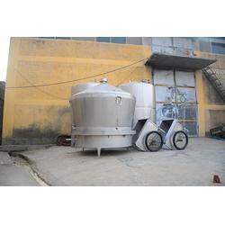 蒸汽連接的不銹鋼煮酒設備報價-久鼎釀酒設備-煮酒設備報價圖片