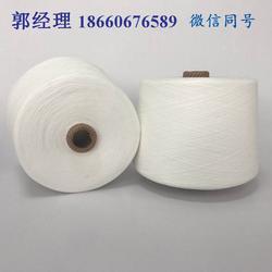 本白色涤纶缝纫线422/522在机生产图片