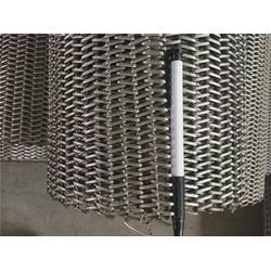 不锈钢扁丝网带-三力机械-不锈钢扁丝网带生产厂家图片