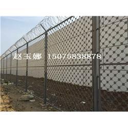 监狱警戒围网,5米警戒区铁丝围网图片