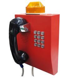 隧道光纤视电话,电力隧道专用IP电话机,SIP对讲广播电话图片