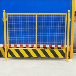 基坑護欄網 建筑臨邊護欄網 建筑警示基坑護欄網 安平拓軒廠家圖片