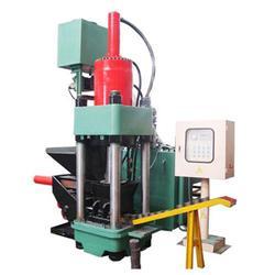 低价供应废金属屑金属颗粒金属粉末液压屑饼机质量好图片