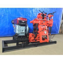 博远工厂销售xy100型百米电启动水井钻机 农村打井液压打井设备图片