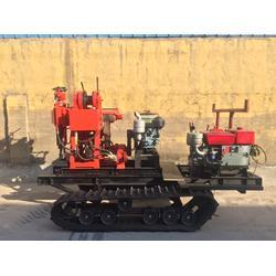 特价销售柴油版电启动钻机 农用电启动水井钻机 操作方便图片