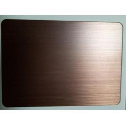 不锈钢红古铜拉丝板图片