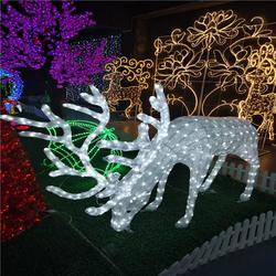 定制led动物造型灯 滴胶鹿造型灯户外防水街道公园 小区装饰灯图片