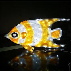 厂家直销LED造型灯 立体动物灯 滴胶鱼造型灯 节日景观灯图片