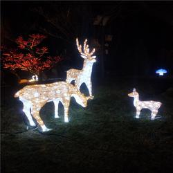 滴胶梅花鹿子三件套:大H170cm,中H120cm,小H70cm,LED造型灯厂家图片