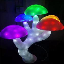 滴胶蘑菇树造型灯 户外防水造型灯 国际灯光节图片