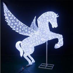 厂家生产飞马造型滴胶动物灯LED灯光节 公园装饰工程亮化景观灯图片