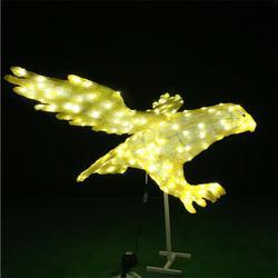 LED滴胶大雁造型 节日庆典 动物滴胶造型 梦幻灯光节造型灯图片