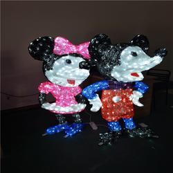LED公园街道装饰灯 立体动物米老鼠造型灯 滴胶造型灯 路灯杆装饰灯图片