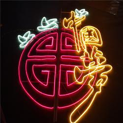 春節日裝飾彩燈 路燈桿造型燈 市政燈光亮化工程圖片