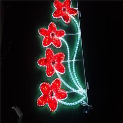 春節街道亮化 路燈桿裝飾燈 火樹銀花圖案造型燈圖片