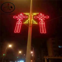 国庆庆典气氛灯 LED灯杆艺术图案灯 街道亮化造型灯 树挂件灯图片
