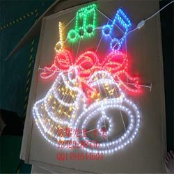 节日商场亮化装饰灯 走廊LED灯串 窗帘灯 圣诞图案灯图片