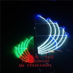 国庆城市灯光亮化 街道兜帘灯 LED灯杆造型灯图片