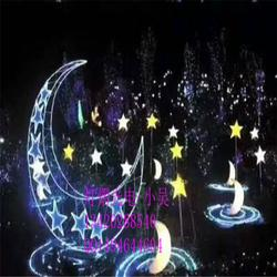 LED造型灯户外中秋月亮星星景观灯公园节日装饰定制灯光节造型灯图片