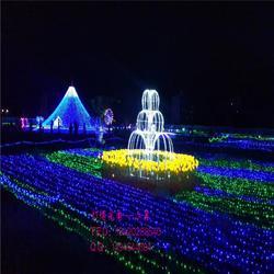 定制led大型梦幻灯光节造型灯户外灯光秀景区园林商场亮化装饰布置图片
