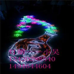 长6M高2M 灯光节LED流光瓶图案 节日装饰彩灯 led造型灯厂家图片