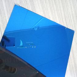 专业电镀304彩色不锈钢板宝石蓝镜面装饰板可来样定制加工图片