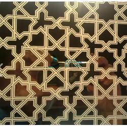 销售304不锈钢蚀刻板KTV尊贵套房装饰板 不锈钢表面处理厂家图片