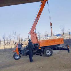 廠家改裝中小型三輪隨車吊農用移樹吊三馬子平板吊圖片