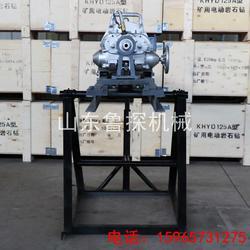 鲁探供应KHYD110 地面岩石电钻 小型多角度 护坡钻机图片