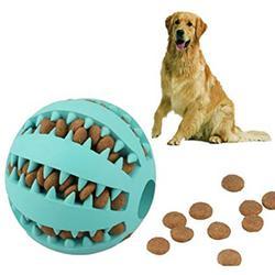 宠物磨牙玩具西瓜球硅胶玩具 狗磨牙球耐咬洁齿漏食球咀嚼玩具