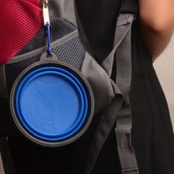多色 便携可折叠宠物狗狗碗 硅胶折叠 户外携带 优质钱柜娱乐图片