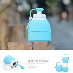 硅胶特软 旅行用品 可折叠户外旅游出差旅行硅胶折叠水壶水瓶