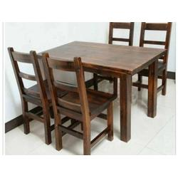 供应沈阳优惠的防腐木桌椅-秦皇岛防腐木桌椅哪家好图片