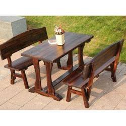 沈阳优良的防腐木桌椅出售-伊春防腐木桌椅图片