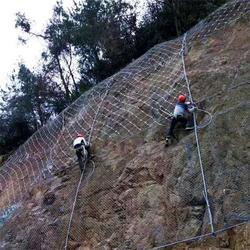 成都拦石被动防护网厂家-被动防护网厂家-俊川科技图片