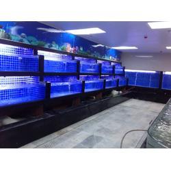 哪里可以定做海鲜鱼池-哪家公司做的海鲜鱼池质量好-定做一个普通的海鲜鱼池需要多少钱图片