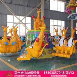 袋鼠跳游乐设备哪家好 游乐场弹跳机厂家直销图片