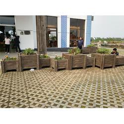 青浦水泥花盆-想买好的水泥花盆就到地山秀美栏杆图片