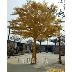 厂家直销仿真大树大型人造仿真绿植假树 定制榕树 红枫树 银杏树图片