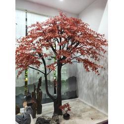 仿真假树大树仿真榕树室内大型植物装饰客厅酒店布景绿植树干定做图片