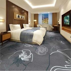 手工羊毛地毯厂家可定做 宾馆酒店客房便宜地毯图片