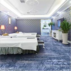 手工羊毛腈綸地毯定制美爾地毯廠家圖片