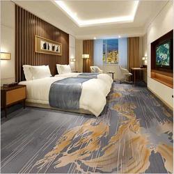 定做 酒店工程地毯 新西兰羊毛图片