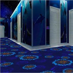 加密型尼龙印花地毯低价现货直批电梯毯图片