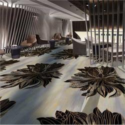 酒店会议室地毯定制 宾馆接待厅地毯厂家图片