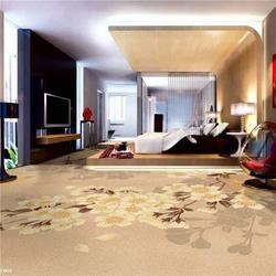 地毯哪家好 酒店新中式几何图案加厚地毯图片