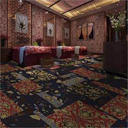 方块地毯选购 夜场酒吧地毯定制图片
