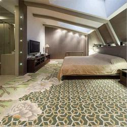 新潮时尚多种花型颜色规格厚度可定做羊毛手工地毯图片