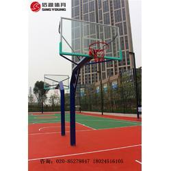 硅PU塑胶篮球场专业施工建设及材料生产厂家图片