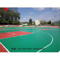 篮球场专业施工建设及篮球场工程建设厂家图片